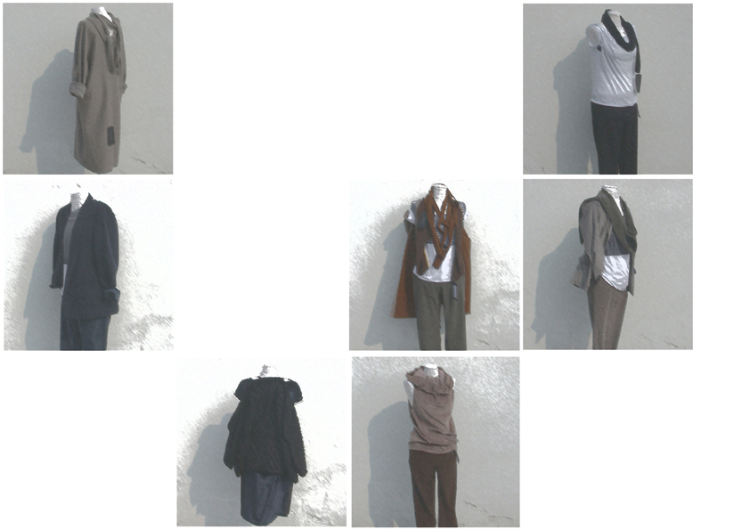 outfits for showing the collection
